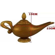 Zantec Plástico Cosplay Magic Navidad Halloween Panto Arabian para Aladdin Genie lámpara vestido de lujo Prop