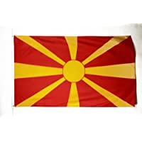 AZ FLAG Bandera de Macedonia 150x90cm - Bandera Macedonia 90 x 150 cm