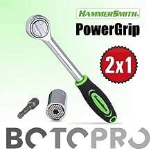 BOTOPRO - HammerSmith PowerGrip (2X1), la llave universal para 7-19 milímetros