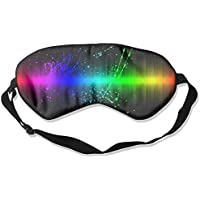 Eye Mask Eyeshade Rainbow Pattern Sleeping Mask Blindfold Eyepatch Adjustable Head Strap preisvergleich bei billige-tabletten.eu