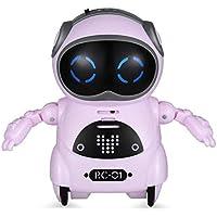 Evokems Kinder Mini Pocket Roboter Spielzeug interaktive Dialoggespräch Geschenk Lichtwecker preisvergleich bei billige-tabletten.eu