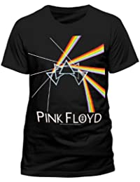 Pink Floyd DSOTM Multi Prism Official Unisex T-Shirt (Black) Small