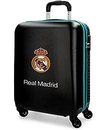 Real Madrid RM Leyenda Maleta, 69 cm, 75 Litros, Negro