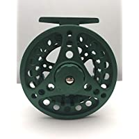BestCity - Carrete de Pesca con Mosca (aleación ALC, Color Verde Mate, Talla 7/8 (Carrete #10)