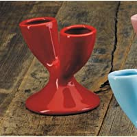 Double Egg Cup – Red