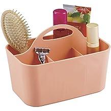 MDesign Badezimmer Korb Mit Griff   Als Kosmetik Organizer,  Küchen Aufbewahrungsbox Oder