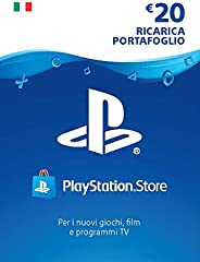 PlayStation Network PSN Card 20€   Codice download per PSN - Account italiano