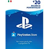 PlayStation Network PSN Card 20€ | Codice download per PSN - Account italiano