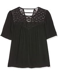 2TWO Lenzo - Camiseta de manga corta para mujer