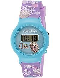 Disney Digital Blue Dial Girl's Watch - DW100473