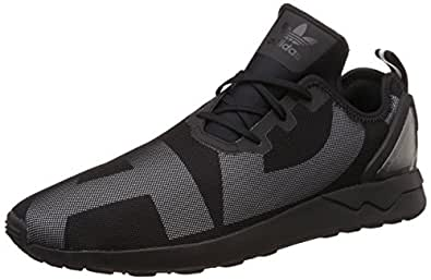 newest 66fe8 31088 ... sweden adidas originals mens zx flux adv asym cblack cblack and ftwwht  sneakers 46b3f b16b5