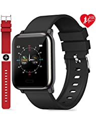 Fitness Trackers, L8star Smart Watch Activity Tracker with Heart Rate Sleep Monitor 1.3inch Color Screen Long Battery Life Include a Replacement Band Compatiable for Fitbit Versa Step Counter for Women Men