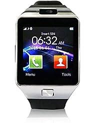 "YUNTAB S Bluetooth Smart Watch pantalla LCD 1.56"" (240x240), Bluetooth 3.0 ,SIM tarjeta, CON CÁMARA smartphone Android Samsung S2/S3/S4/Note 2/Note 3 HTC Nokia IOS Apple iphone 4/4S/5/5C/5S/6 (negro)"