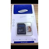 Microcell Carte MicroSD de 128 Go / 128GB avec Adaptateur SD pour Samsung Galaxy S8 / S8 Plus S8+
