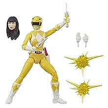 Power Rangers Lightning Collection - Figurine Mighty Morphin Ranger Jaune de 15 cm