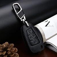 HaiMa Dedicado A Audi Q3 Cuero Clave Caso A3 Viejo Q7 Modificado A6L Hebilla A1 S3
