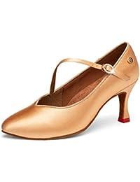 6579cc94 LL Mujer Puntiagudo Zapatos Baile Latino Ligero Y Suave Fuerza Elástica Zapatos  Baile Modernos