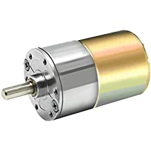 Rishil World 24V DC 500RPM/1000RPM High Torque Gear Box Motor Permanent Magnet Electric Motor