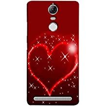 Printfidaa Lenovo K5 Note, Lenovo Vibe K5 Note Pro Back Cover Love Symbol with Red Background Printed Designer Back Case