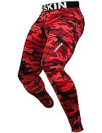 DRSKIN Pantalon de Compression Homme Sport Collant Legging Skins pour  Course Running Fitness e74462304b0