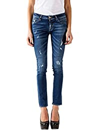 Meltin'Pot - Jeans MADOLINE D1339-BP115 para mujer, estilo skinny, ajuste ceñido, talle normal