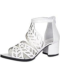 Sandalias para mujer Zapatos de mujer de verano vintage Sandalias, plataforma, cuña, tacones altos Zapatos de Bohemia Tacones de correa de tobillo LMMVP