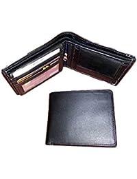 Real Cow Hide Men's Black Leather Wallets (CZ-1003)