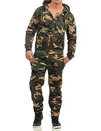 72e66e60001b1 Unbekannt Game Herren Jogginganzug Camouflage Anzug Set Army Sportanzug  Trainingsanzug
