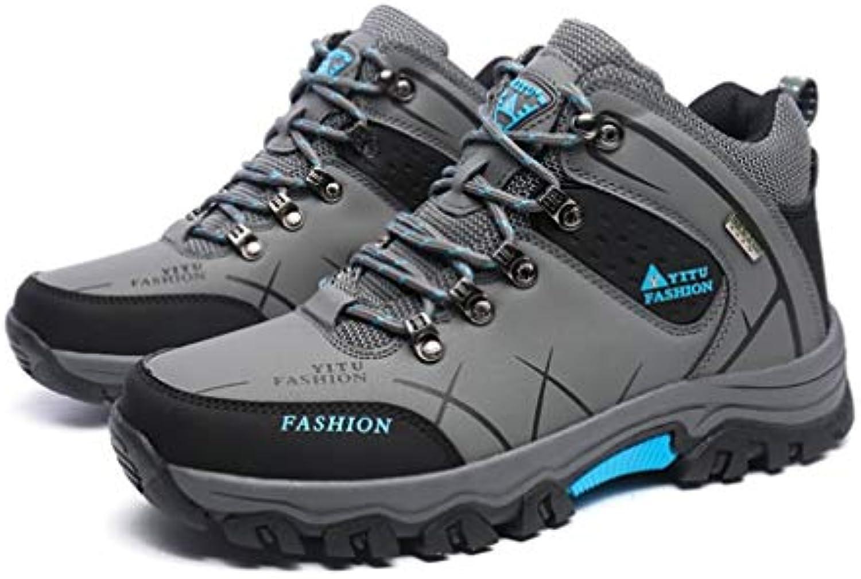 FDBF Outdoor Lace-up High-Top Scarpe da Trekking Sport Scarpe da Uomo per Arrampicata 47 Grigio   Funzione speciale    Uomini/Donna Scarpa