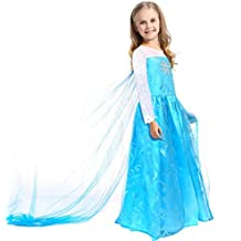 CoolChange disfrace de Elsa de Frozen, talla: hasta la 140