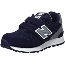 5c7e6ad126 New Balance 574 Hook and Loop High Visibility