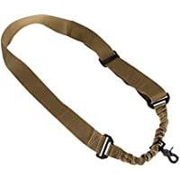 Fuwok Tactical One Single Point Adjustable Bungee Rifle Gun Sling Strap System Tactical zsgs05