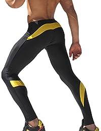Mallas de Running y Entrenamiento para Hombres Running Gym Training  Leggings de Exterior para Deporte M fe69b8e9c9fbe