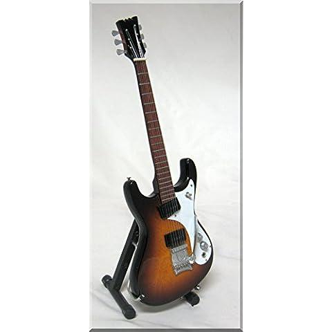 KURT COBAIN Miniatura Guitarra MOSRITE SUNBURST NIRVANA
