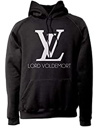 689d121cefe6 LaMAGLIERIA Sweat Unisex Harry Potter - Lord Voldemort - Sweat à Capuche