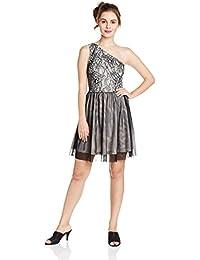 ONLY Women's One-Shoulder Mini Dress