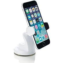 Osomount Smart Mount Support Universel Voiture pour Téléphone Portables et Smartphones pour Tableau de Bord ou Parebrise avec haut-NFC pour iPhone 6 / 6 Plus / 5S / 5C / 4S / Samsung Galaxy S6/ S5 / S4 / Note 4 / 3 & Other Smartphones - Blanc