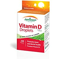 Vitamin D Droplets - Jamieson - integratore alimentare di vitamina D