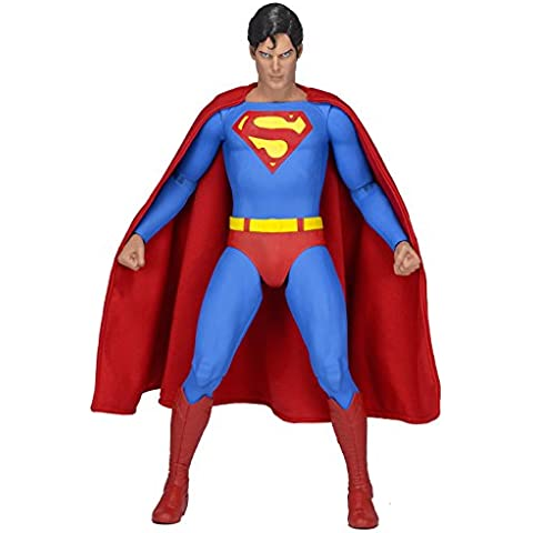 Acción Neca Superman The Movie Superman Christopher Reeve Versión Figura Escala 1: 4