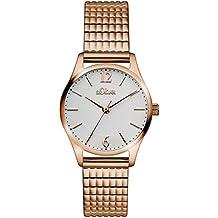 s.Oliver Damen-Armbanduhr Analog Quarz Edelstahl SO-3193-MQ
