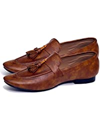 d14059e43d Hush Berry GIS Special Ethnic Synthetic Leather Gift Formal Loafer Shoe for  Men