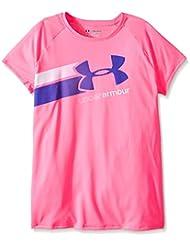 Under Armour chicas fitness T-Shirt y camiseta de manga corta T casi Lane rosa Pink Punk Talla YXL