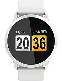 Hombres Mujeres Bluetooth reloj inteligente para Android IOS Fitness Tracker con ritmo cardíaco monitor de presión