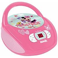 Minnie Mouse - Lector Radio CD Disney, niña (RCD108MN)