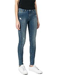 CALVIN KLEIN - Jeans - Femme bleu Bleu denim