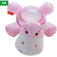 Fisher-Price Soother Projection Hippo - Pink