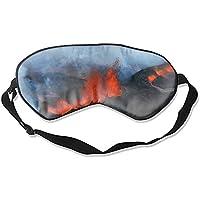 The Land of Volcanoes Schlafmaske & Augenbinde, super glatte Augenmaske preisvergleich bei billige-tabletten.eu