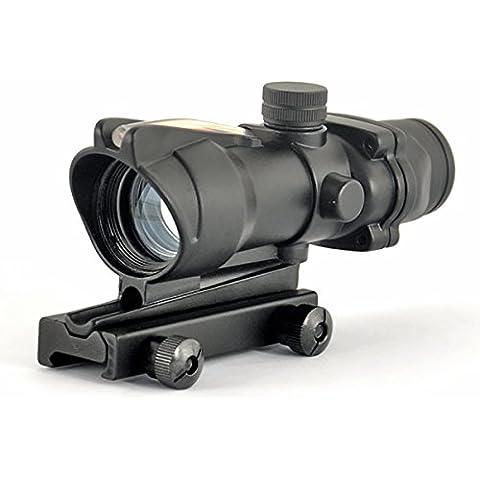 woltis acog estilo RC 1x 32Fibra Óptica Red Dot vista alcance con soporte QD