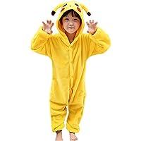 a5d8785846e1 JunYito Pyjama Enfant Adulte Licorne Animal Costume Cosplay Deguisement  Halloween pour Fille Garçon Femme Homme