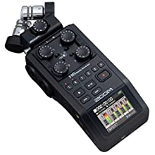 Zoom - H6-BLK / IFS - 6 track recorder - USB interface - Black Edition